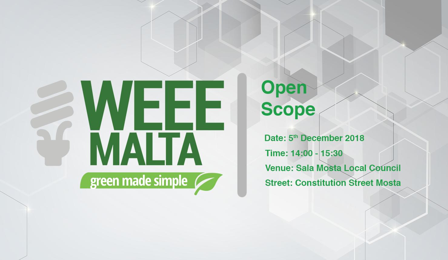 WEEE Malta Info Meeting/Laqgħa ta' Informazzjoni
